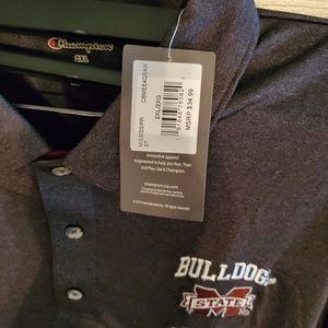 Champion Shirts - MS State Bulldogs Polo